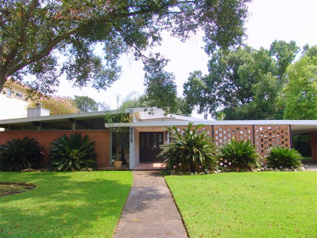 Houston real estate blog lars bang s home it s official Mid century modern homes for sale houston