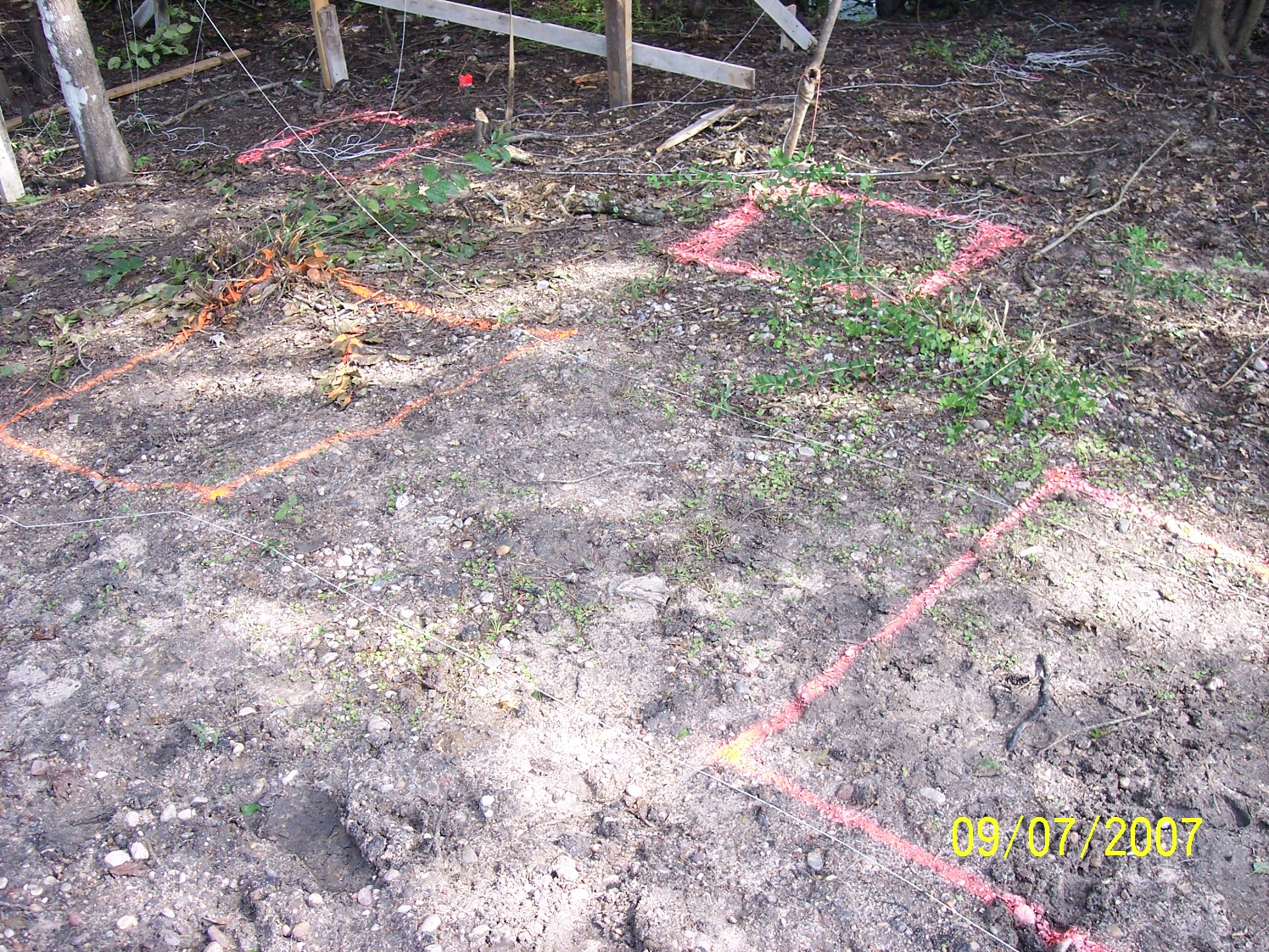 Footings & water seepage
